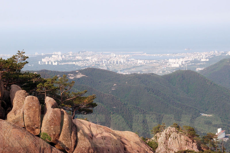 View of Daepohang Port