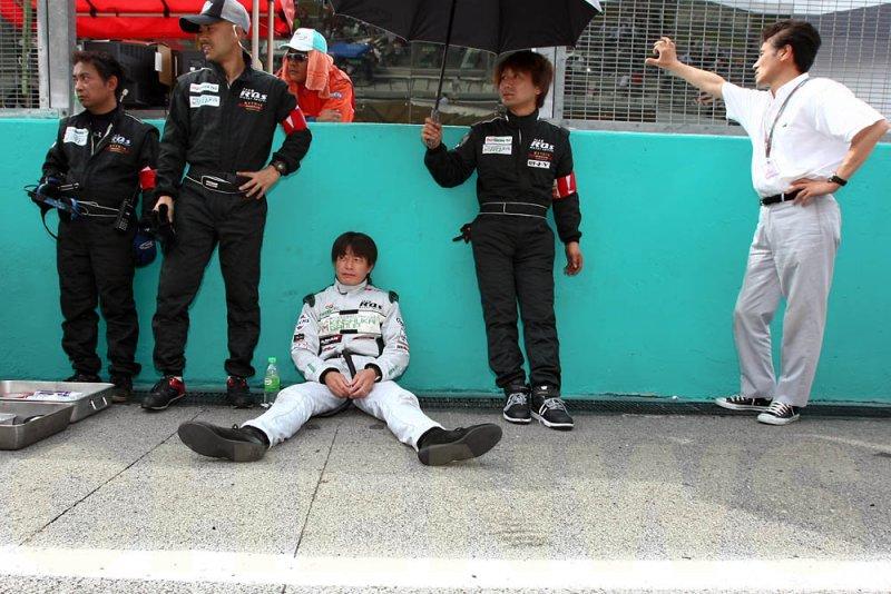 Hisashi Wada of RQs MOTORSPORTS