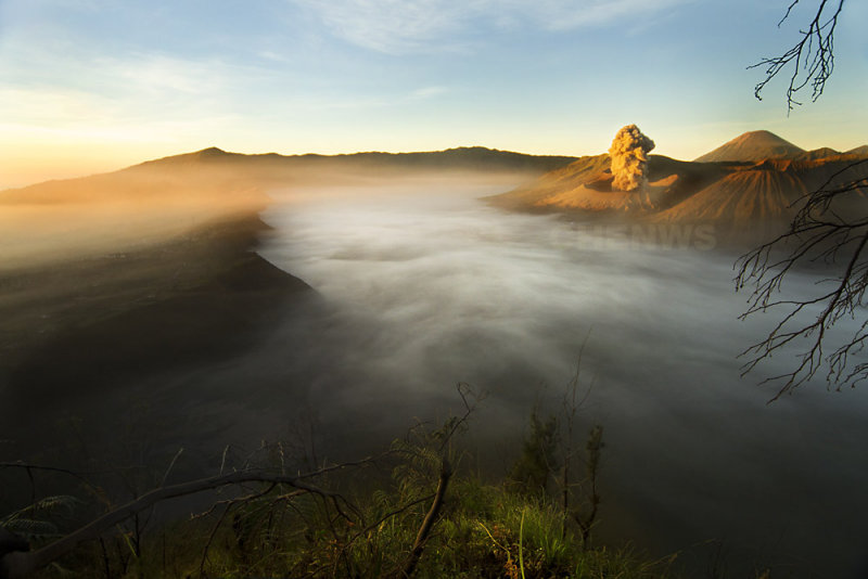 Sunrise, Mount Bromo