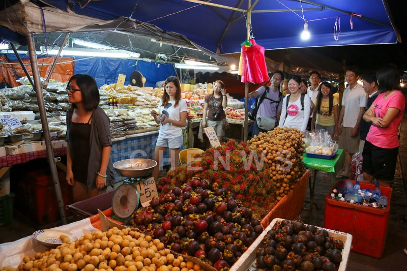 Night market, Kuala Terengganu