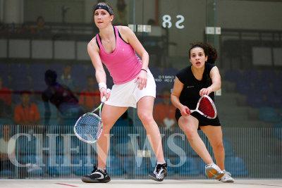 sarah Kippax (Eng) vs Heba El Torky (Egy)