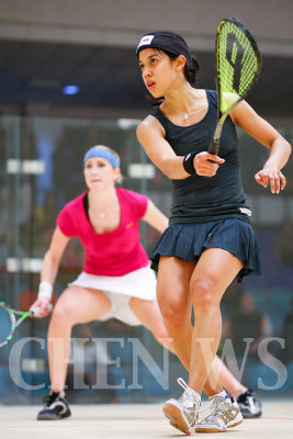 Sarah Kippax (Eng) vs Nicol David (Mas)