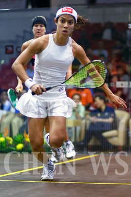 Nicol David (Mas) vs Kasey Brown (Aus)