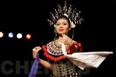 Iban dancer