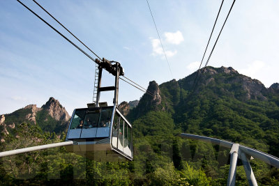 Cable car to Mt Seorak
