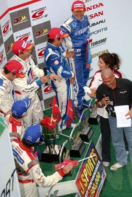 Winners of GT500 race