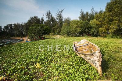 An old fishing boat in Kg. Sungai Ular, Kuantan