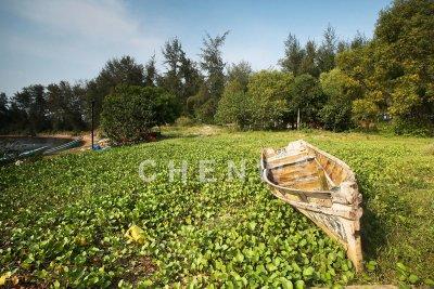 Old boat, Kg Sungai Ular