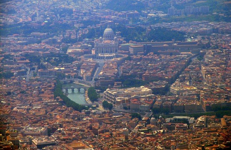 Rome and Vantican City