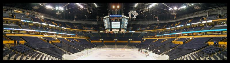 An empty arena
