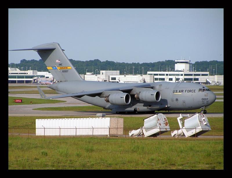US Air Force Boeing C-17 III Globemaster