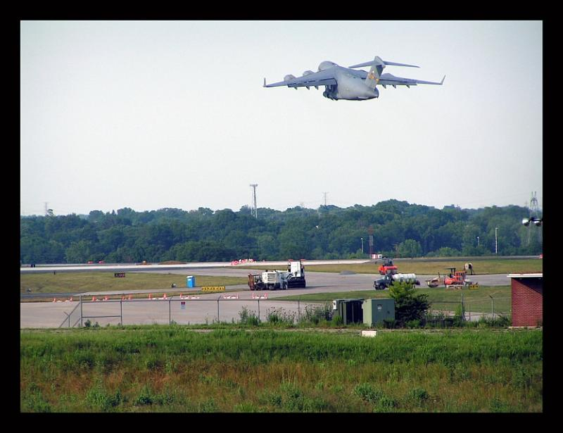 USAF C-17 @ takeoff