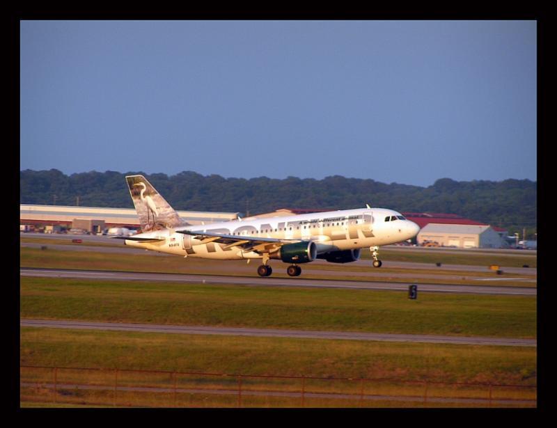 Frontier Airlines  Eagret