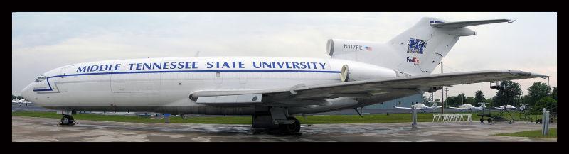 MTSU Boeing 727-025C   FAA# N117FE (formerly N8152G)