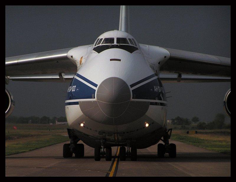Escorting The Antonov
