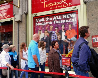 Madame Tussauds Amsterdam wax museum.You MUST go here!