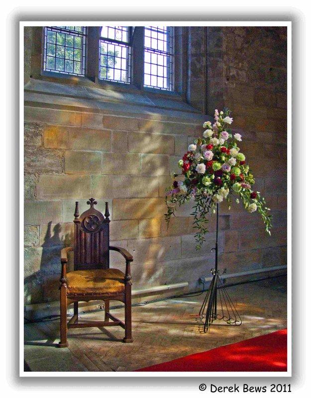 Inside Culross Abbey