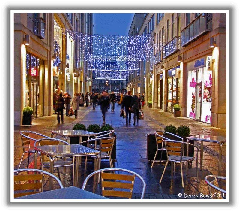 Hogmanay Street Scene