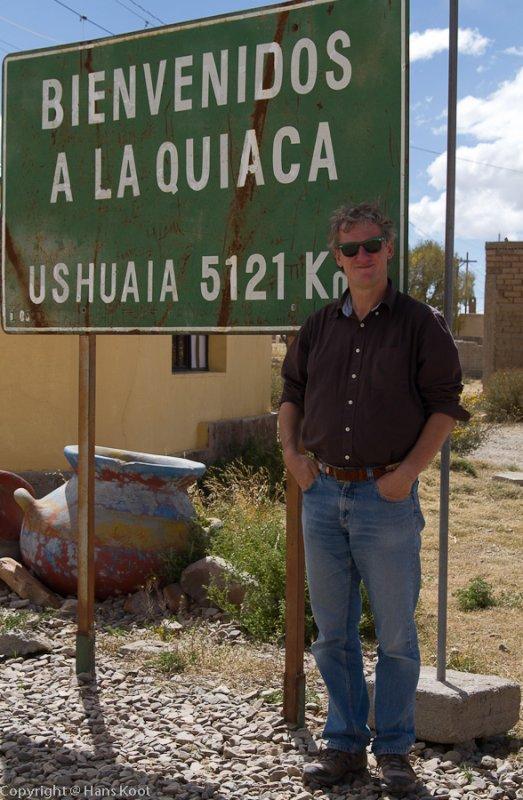 At the Bolivian Border