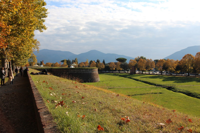 City Wall, Lucca, Italy