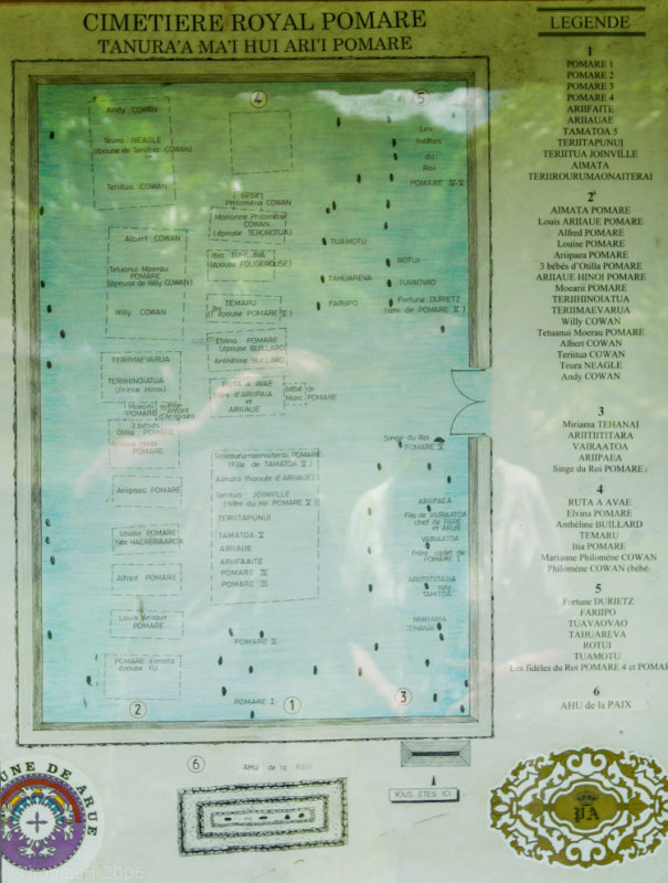 1538 Layout of the royal cemetary