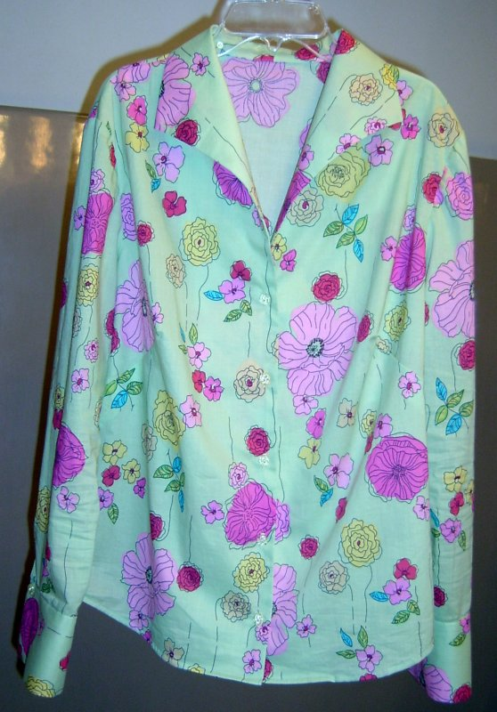 Marfy #1101 in Cotton Print