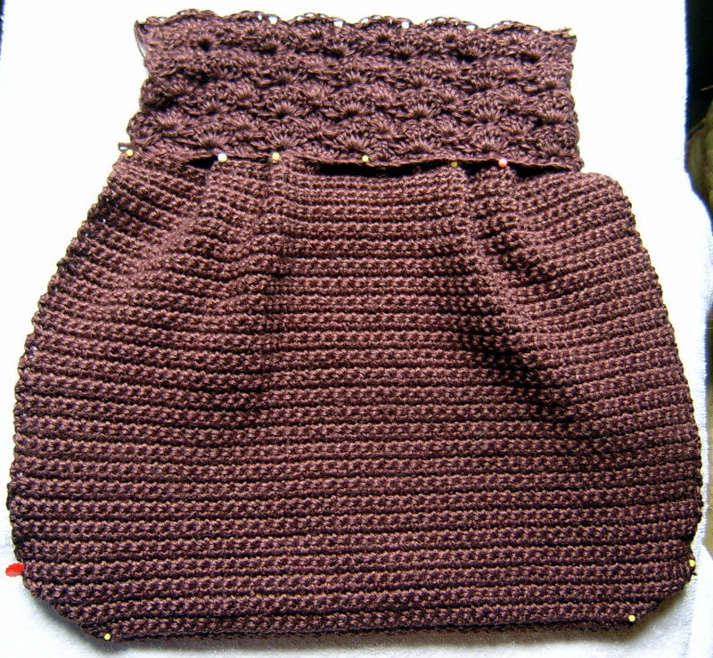 Crocheted Bag Pieces