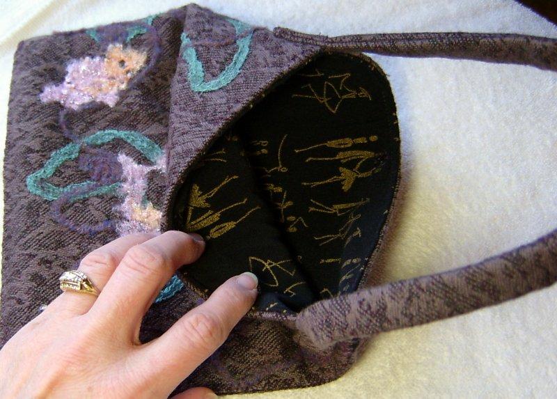 Small Xmas Bag inside