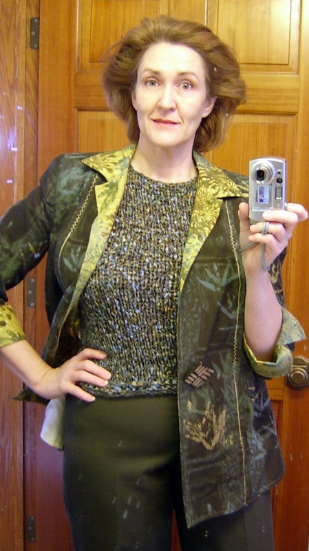 Segue Shell with Vogue jacket