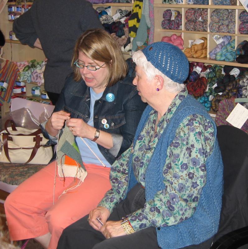 Log Cabin knitter.jpg