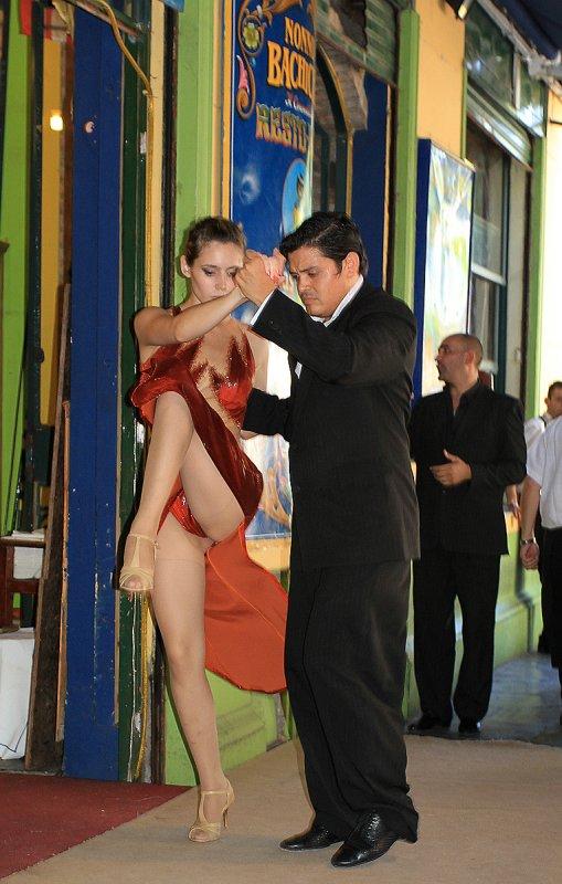 Tango Along Caminito