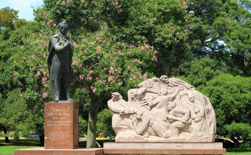 El Monumento a Taras Shevchenko