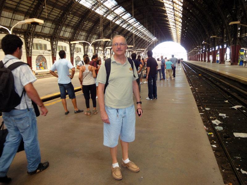 Retiro Train Station in Buenos Aires, Argentina