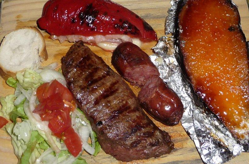 Steak & Sausage