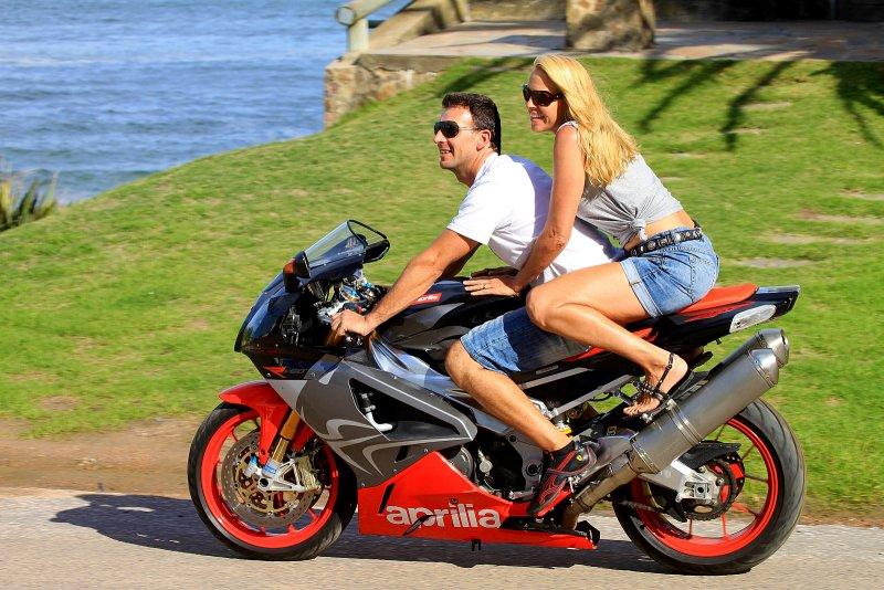 Riding in La Barra