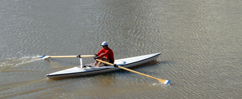 Rowing in Puerto Madero