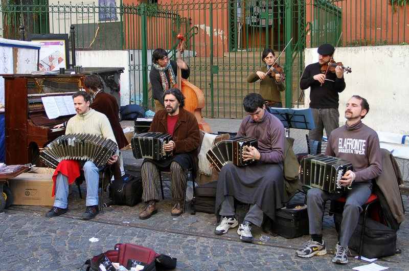 Band In San Telmo