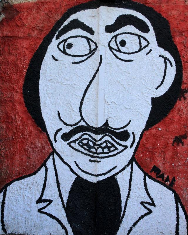 Mural in Punta del Este