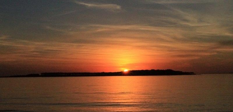 Sunset in Punta del Este