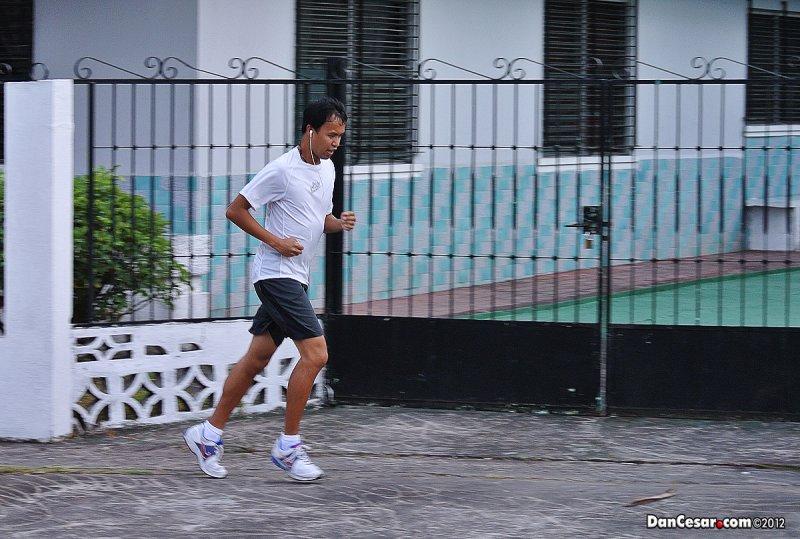 Running in El Carmen