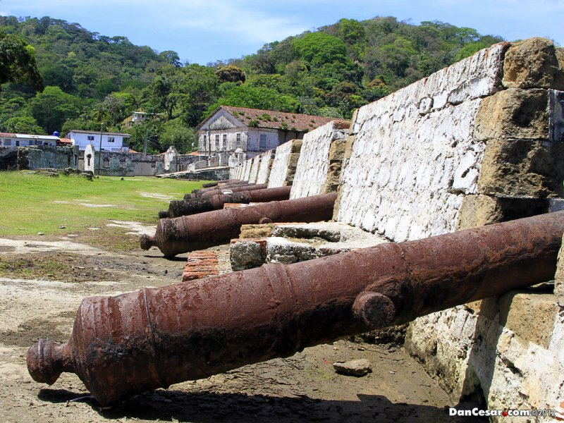 Cannons of Fort San Jeronimo