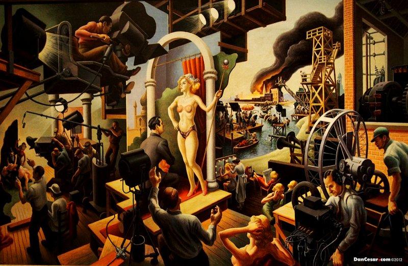 Hollywood, 1937-1938, Thomas Hart Benton