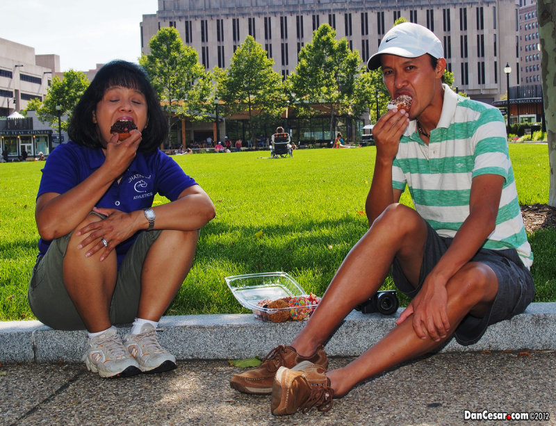 Peace, Love & Little Donuts at Schenley Plaza