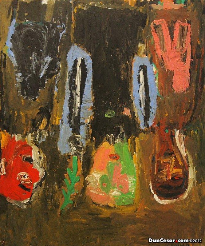 Die Verspottung (The Mocking), 1984, Georg Baselitz, German, b 1938
