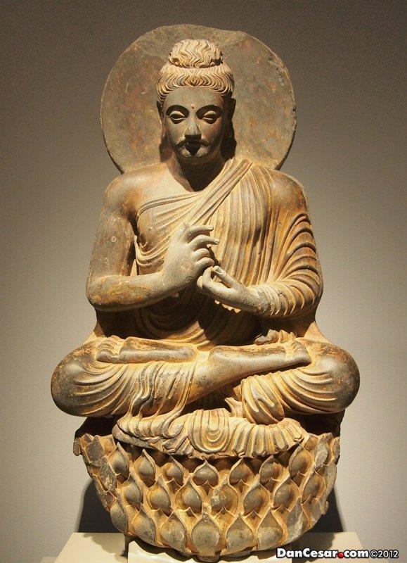 Buddha, 2nd-3rd century, Northwest Indian or Pakistani, Kushan Period, 50-320