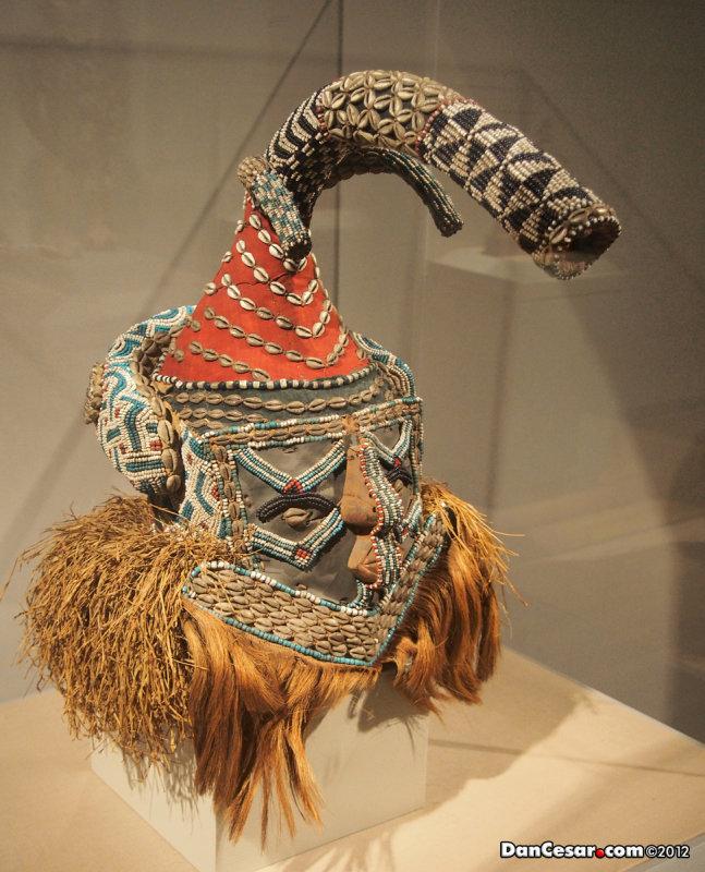 Mask, c. 1900-1910, Kuba culture, Present-day Democratic Republic of the Congo