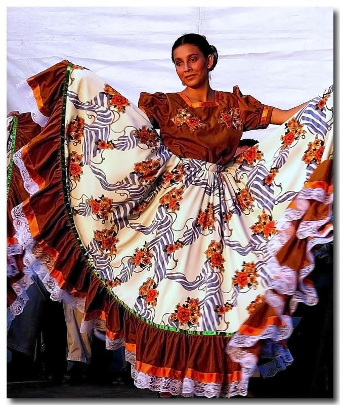 Nicaraguan Folk Dancer