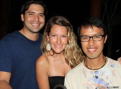 Walter, Ashley, Cesar