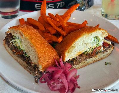 Mexican Steak Sandwich