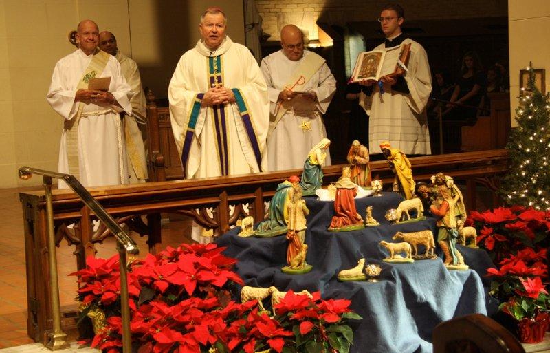 Archbishop Aymond Addresses the Ursuline nuns at Battle of New Orleans Mass